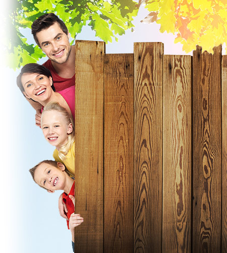 Sale and installation of fences for the safety of your family